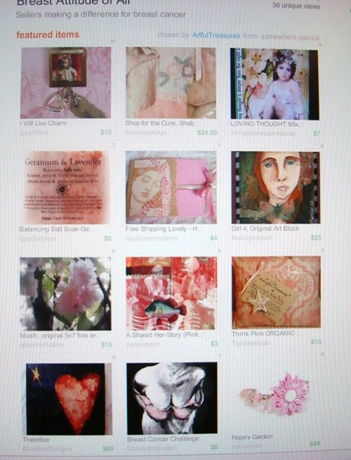 Etsy treasury 2