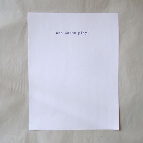 See karen play