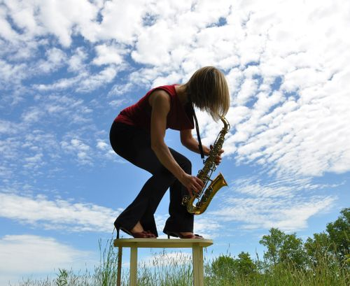 Sax in the country