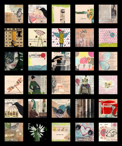 Collage a day in order of posting